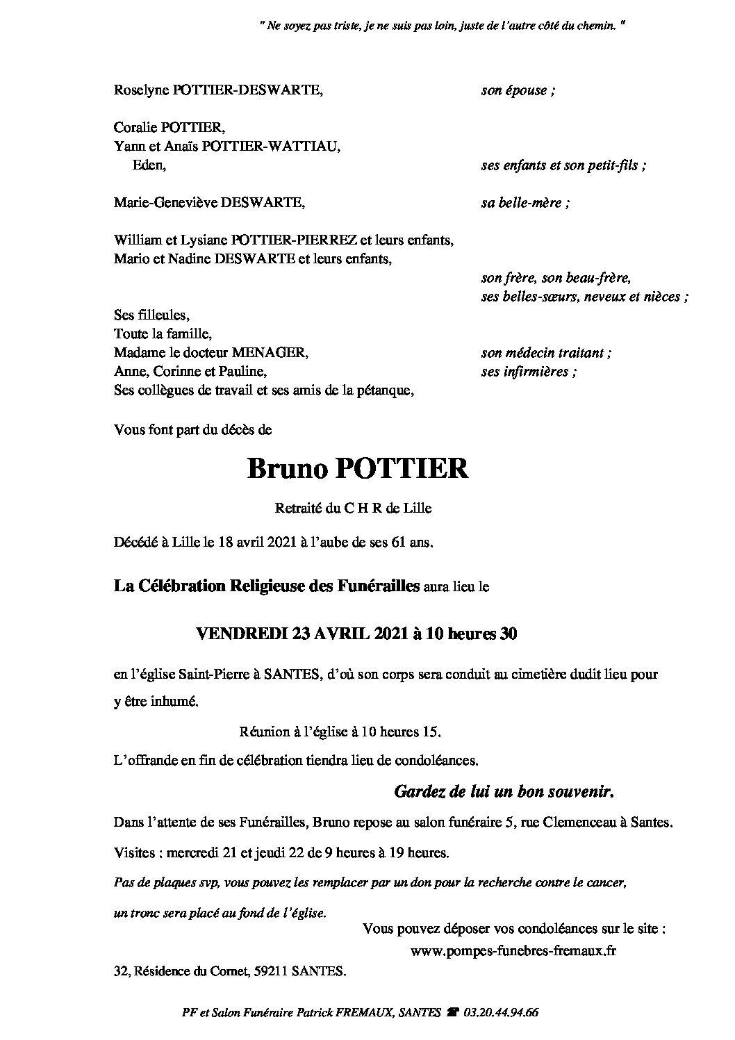 Monsieur Bruno POTTIER