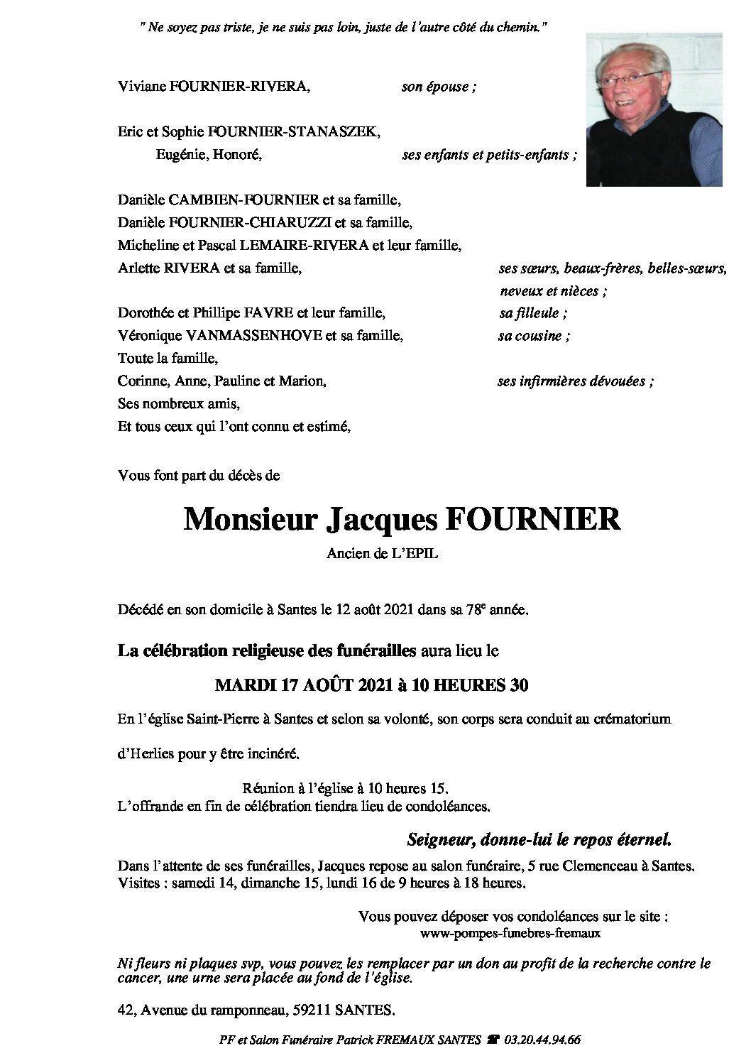 Monsieur Jacques FOURNIER